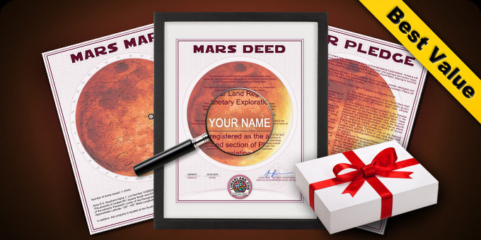 Deluxe Mars Gift Package