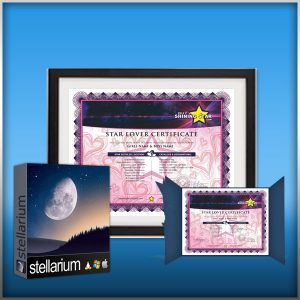 name a star lover registry deluxe gift package