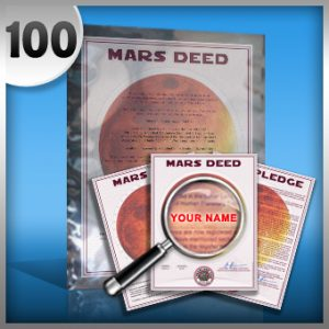 planet mars land buy 100 acres