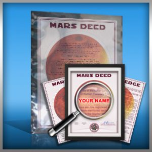 planet mars land buy deluxe gift package