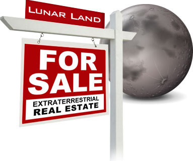 planet mars moon for sale from lunar land